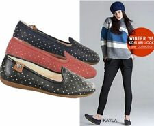Flat (0 to 1/2 in.) Suede Pull On Shoes for Women