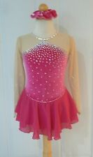 New ListingKim Competition Ice Skating Dress Child Size 12