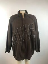 Vintage Nike Embroidered Spellout Logo Hoodie Hooded Mens Size XXL Free Shipping