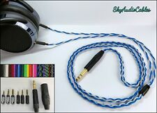Custom Headphone Cable - 2 x 3.5mm Hifiman He400i Amiron Focal Elear Sony Z7