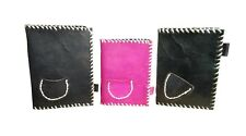 Leather Journal Handmade Vintage Diary Blank Notebook Book Notebook Lot of 3