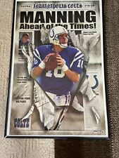 """Indianapolis Colts Retro Logo  NFL poster 22.5 x 34/"""""""