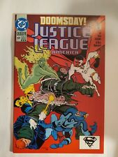 New listing Justice League America #69 Dc Comics 1992 Vf Newsstand