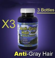 180c Anti-Gray Vitamin w/Catalase Stop Grey Hair-90 day- All Natural