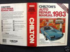 Chilton's Auto Repair Manual, 1983 / Amer. Cars 76- 83
