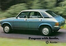Austin 1975-76 UK Market Sales Brochure Mini Allegro Maxi Princess