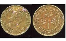 HONG KONG  10 ten cents 1971