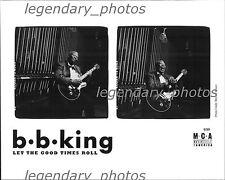 B.B. King Let the Good Times Roll MCA Original Press Photo