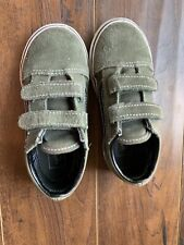 "Vans Old School V Sneaker Toddler Sz10 ""duffle Bag""/ Black"