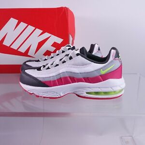 Nike Little Kid's Air Max 95 Sneakers 905461-029 Anthracite/Volt/Rush Pink/Wolf