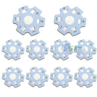 50 Pcs Star 20mm High Power 1W / 3W LED Beads Heat Sink Aluminum Base Plate New