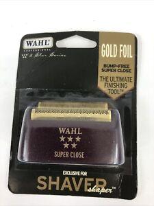 WAHL Shaver/Shaper Replacement SUPER CLOSE FOIL GOLD 5 Star