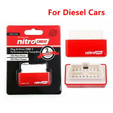 New OBD2 Performance Tuning Chip Box Fuel Saver For Diesel Vehicles Plug & Drive