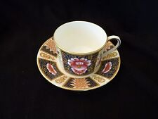 "COALPORT BONE CHINA ENGLAND ""JAVA"" IMARI CUP & SAUCER SET - MINT"