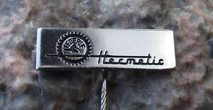 Vintage Lederle Hermetic German Engineering Company Pumps Machines Pin Badge