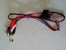 Engel Generator DC Battery Charge Leads with Alligator Clips