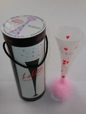 Lolita Champagne Collection I Love You 8oz Champagne Glass Pink Decor Valentines