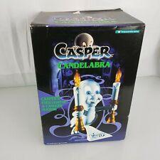 1996 Casper The Friendly Ghost Vintage Candelabra Light Up Lamp Nightlight