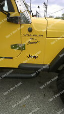 1997-2002 JEEP WRANGLER Sport 4.0L Replacement fender Decals sticker TJ FULL SET