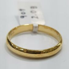 9ct 9k Yellow Gold Half Round Wedding Band | 2.0 Grams | Brand New In Store