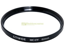 62mm. Filtro MC UV  Citiwide. Ultra violet filter.