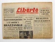 Liberté n°297 - 1963 - Quotidien du parti Communiste - Armentières  - Eiger