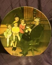 1992 Knowles Norman Rockwell The Family Doctor Collectors Plate
