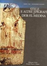 TOSI Mario, ROCCATI Alessandro, Stele e altre epigrafi di Deir El Medina