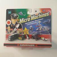 MICRO MACHINES micromachines carabinieri  van 4x4 horse hasbro 2006 New sealed