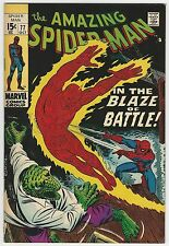 AMAZING SPIDER-MAN #77 GRADE 7.5 VF- OFF-WHITE TO WHITE PAGES (ID 3396)