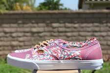 VANS AUTHENTIC CA SZ 10 CALI TRIBE WASHED POPPY RED VN 0JWIAS4