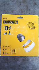DEWALT DT1208 18 VOLT Kreissägeblatt 165mm 16 Zähne