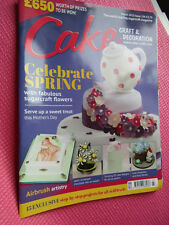 Cake Craft & Decoration Sugarcraft Recipe Magazine March 2015 issue 196