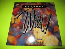 ERASURE - WILD LP UK PRESS