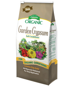 Garden Gypsum Organic Soil Condition fertilizer - 6 lbs