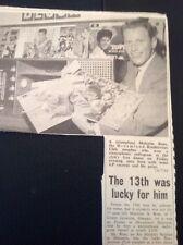 K2-8 Ephemera 1962 Malcolm Ross Dreamland Club Wins Radiogram Margate
