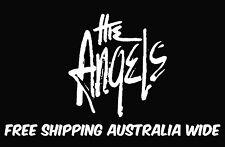 the angels decal stickers x 2 car ute jdm drift hoon toolbox mancave aussie rock