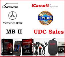 ICARSOFT MBII Diagnostic Tool Scanner SRS ABS Engine Mercedes Benz Sprinter I980