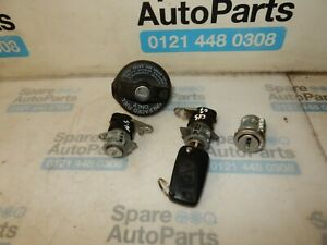FIAT PUNTO GRANDE (2007-2011) IGNITION BARREL WITH KEY FOB AND LOCK SET