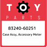 83240-60251 Toyota Case assy, accessory meter 8324060251, New Genuine OEM Part
