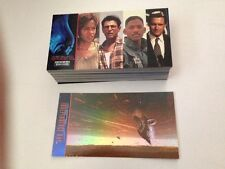 Independence Day trading card set (Topps, 1996) 72-card set + Holo-foil card #6