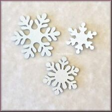 Snowflake Metal Magnets Set of 3 by Roeda® Made in USA Free U.S. Shipping