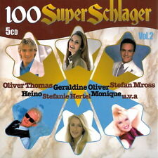 5 CD BOX 100 SUPER canzonette (Oliver Thomas, bianca, Uschi Bauer, Billy MO)