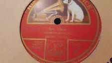 JASCHA HEIFETZ AVE MARIA & ON WINGS OF SONG HMV DB283