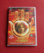 The Tomorrow People - Series 8 - War Of The Empires - Region 2 DVD - Thames TV