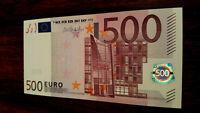 European union,  500 euro gem UNC -( N )Austria signature Draghi F008C1