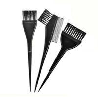 3 Pcs Hair Dye Colouring Bleach Tint Brush Comb Kit Set Saloon Hairdressing