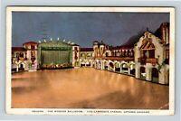 Chicago IL, Aragon, Wonder Ballroom, Vintage Illinois c1936 Postcard X66