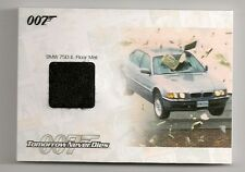 2014 JAMES BOND ARCHIVES #JBR36 BMW 750 IL FLOOR MAT RELIC #117/475 TND