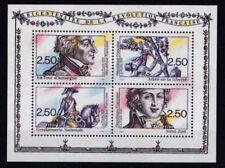 Postfrische Briefmarken mit Motiven aus Frankreich